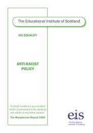 EIS Anti-Racist Policy Booklet