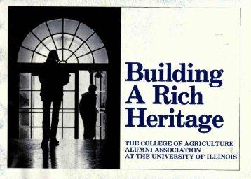 Building Heritage - ACES Alumni Association - University of Illinois ...