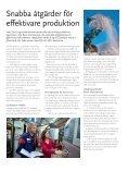 Snabba åtgärder för effektivare produktion - Page 3