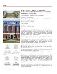Radcliffe Institute, Schlesinger Library - Denise Scott Brown