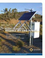 DuraGEN™ SOLAR ENGINES - Temple, Inc.