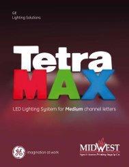 Tetra MAX Brochure - GE Lighting Solutions