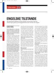 ENGELSKE TILSTANDE - Stof