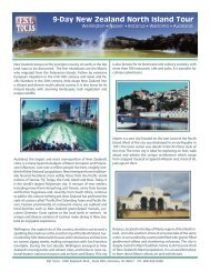 9-Day New Zealand North Island Tour - ESI Tours