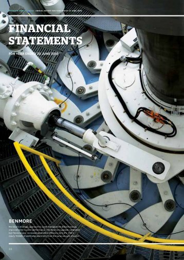 Annual Results Financial Statements Section Only - Meridian Energy