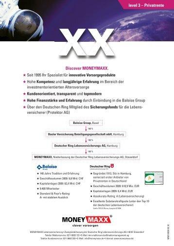level 3 – Privatrente Discover MONEYMAXX. - vmc-metzner.de