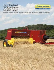New Holland BC5000 Series Square Balers - WCTractor