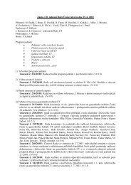 Zápis z 20. jednání Rady České televize dne 25. 6. 2003 Přítomni: M ...