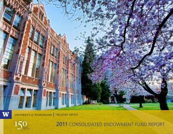 2011 consolidated endowment fund report - Finance & Facilities ...