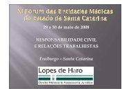 6) Responsabilidade Civil e Relações trabalhistas/Dr. Erial Lopes ...