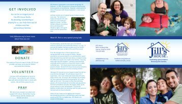 Download the Brochure - Jill's House
