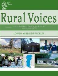 Access a pdf version of Rural Voices - Housing Assistance Council