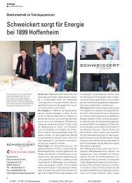 Schweickert sorgt für Energie bei 1899 Hoffenheim