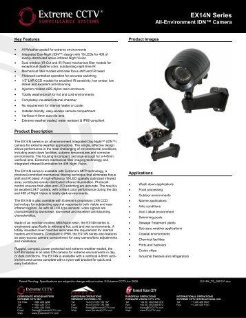 EX14N Series All-Environment IDN™ Camera - Buythis