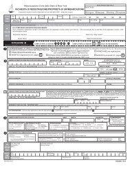 Motorizzazione Civile dello Stato di New York RICHIESTA DI ...