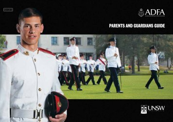 parents and guardians guide - Australian Defence Force Recruiting