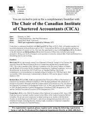 Upcoming Breakfast Seminars - Institute of Chartered Accountants of ...