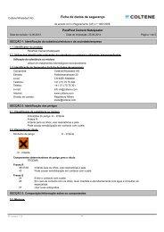 Ficha de dados de segurança - Coltène Whaledent Gruppe