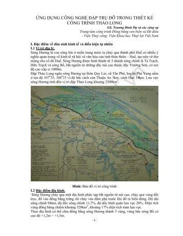 PDF; 1,22MB - Tổng Cục Thủy Lợi