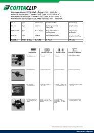 Montageanleitung 17330.4 PVS-1-Z Dose, IP 65 ... - Conta Clip