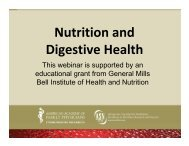 Nutrition and Digestive Health - American Academy of Family ...