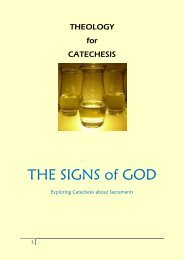 THE SIGNS of GOD - Archdiocese of St Andrews and Edinburgh
