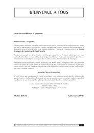 Livre résumé Assises 2013 - FF3S