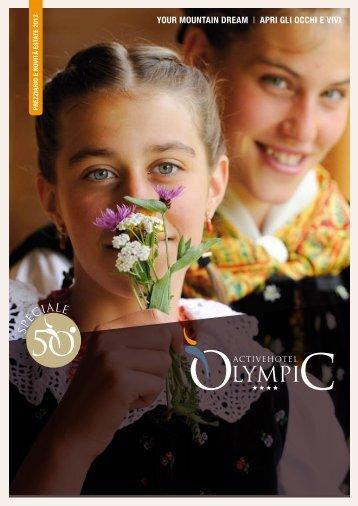 VISUALIZZA Prezziario e Novità ESTATE 2013 - Active Hotel Olympic