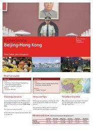 Beijing-Hong-Kong - Russia Experience