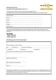 Bewerbung für den Grundkurs für Jugendarbeit 2012/13 ...