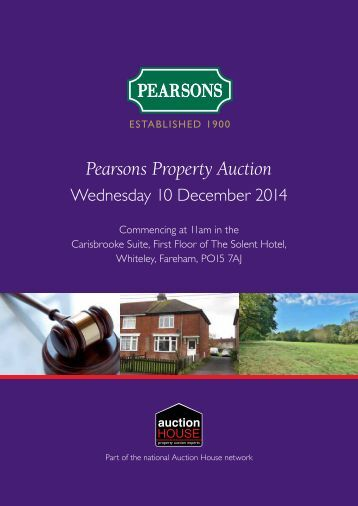 144403 Pearsons Auction December Catalogue A4 20pp