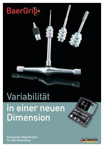 Variabilität in einer neuen Dimension - BaerGrip