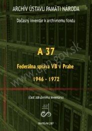 A/II/2/4 - Ústav pamäti národa