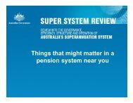 Things that might matter in a pension system near you - International ...
