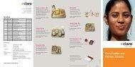 Geschenke aus Fairem Handel - claro fair trade AG