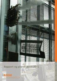 Rapport og planer 2011-2012 - Arkitektur- og designhøgskolen i ...