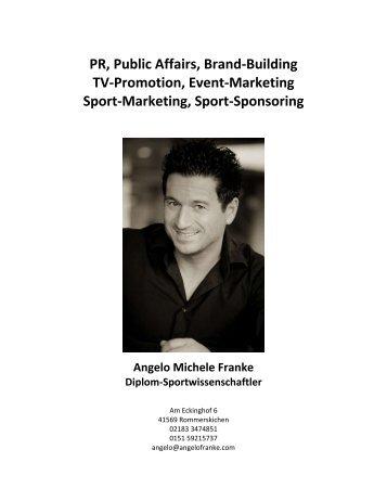 Lebenslauf Angelo Michele Franke