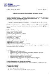 poptavka_dotazniky.pdf - Ústřední vojenská nemocnice