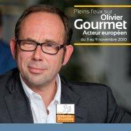 Olivier Gourmet - Centre Wallonie-Bruxelles