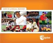 2011-12 ANNUAL REPORT - Orange Bowl