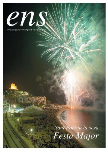 ens 45.qxd - Ajuntament de Sant Pol de Mar