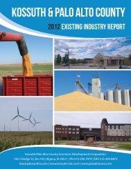 kossuth & palo alto county - Kossuth County Economic Development