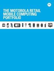 Retail Mobile Computing Portfolio - Motorola Solutions