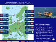 Demonstration projects in Europe - Eindhoven University of ...