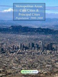 Metropolitan Areas, Core Cities & Principal Cities - Demographia