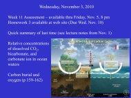 Wednesday, November 3, 2010 Week 11 Assessment – available ...