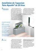 Installation d'un aquarium Tetra AquaArt® pour crevettes - Aquaportail - Page 4