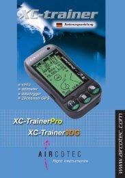 XC-Trainer3DG Handbuch als pdf-Datei zum download - Aircotec