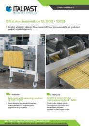 Sfilatrice automatica SL 600 - 1200 - Italpast