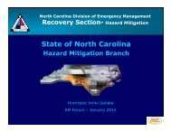 State of North Carolina - North Carolina Department of Public Safety